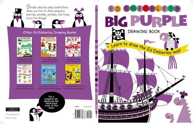 Ed Emberley's Big Purple Drawing Book By Emberley, Ed